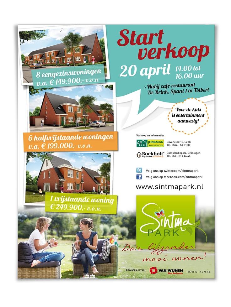 Poster Sintmapark, Van Wijnen.
