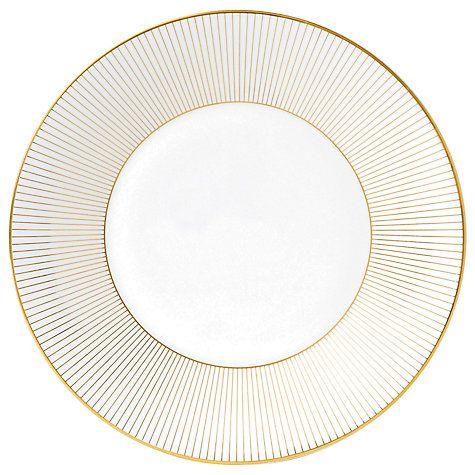 Buy Jasper Conran for Wedgwood Gold Plate, Dia.23cm Online at johnlewis.com