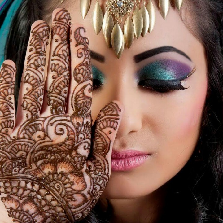 Henna Tattoo Mit Eyeliner: 17 Best Images About Makeup From Around The World On