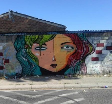 Art takes to Cape Town streets - The South African Art Times: Artist Wayne BKS, Photo: ANA