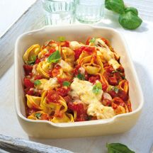 Weight Watchers -Tortellini uit de oven - 8pt