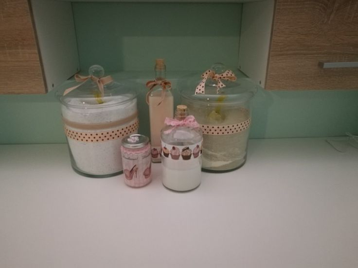 For my new laundry room! Detergent and softener! Laundry room organisation.