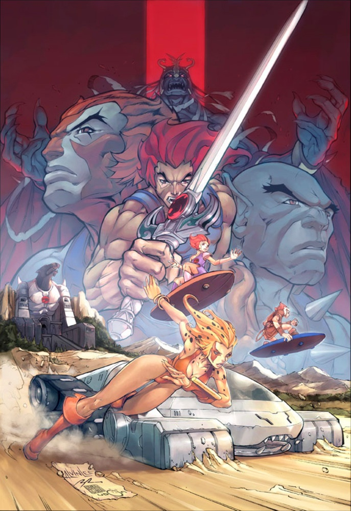 Thundercats!! Kevins dad worked on the animation for this show! @Doug Crane!