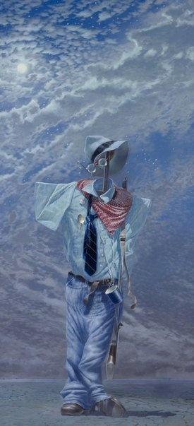 """Tim Storrier """"Moon Boy"""" Archibald prize finalist 2011"""