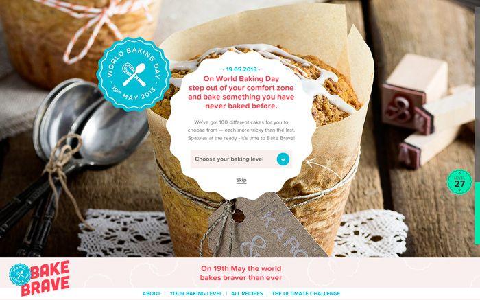 Bake Brave - World Baking Day