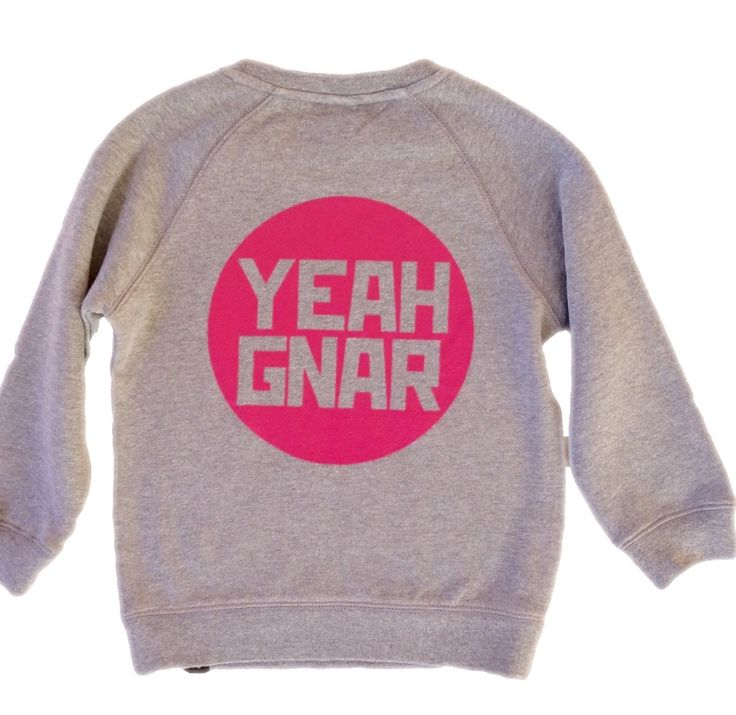 The 'Orig' Sweater - Grey Marle/ Magenta / Yeahgnar