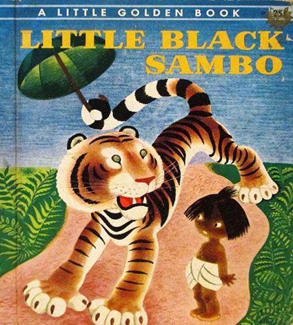 Little Black Sambo book https://www.etsy.com/listing/130453727/vintage-1940s-little-black-sambo-a