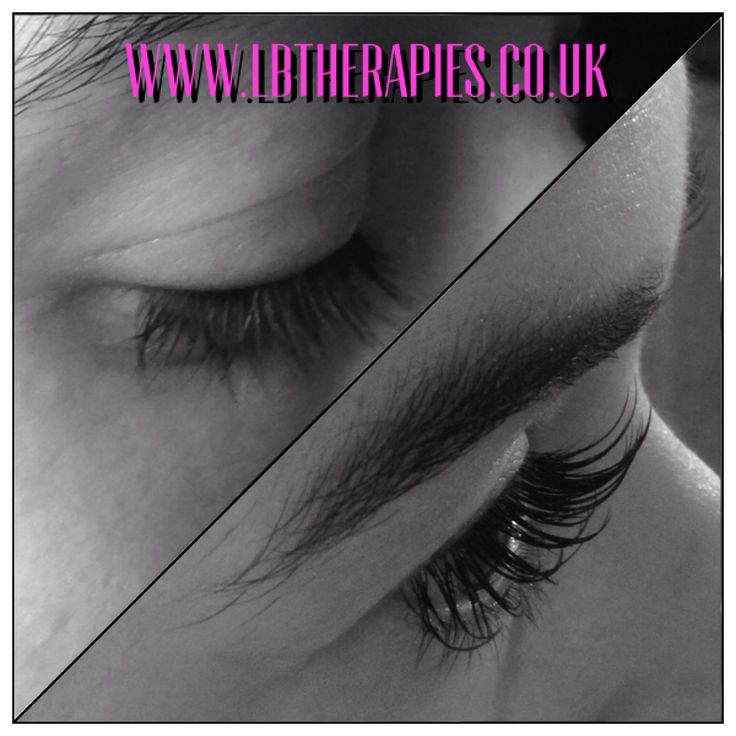 Say goodbye to your mascara! Semi permanent lash extensions really give you those fabulous fluttery lashes!