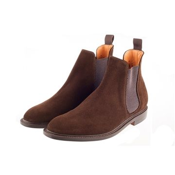 John White - New 2015 John White Shoe KB204 - Brown Suede