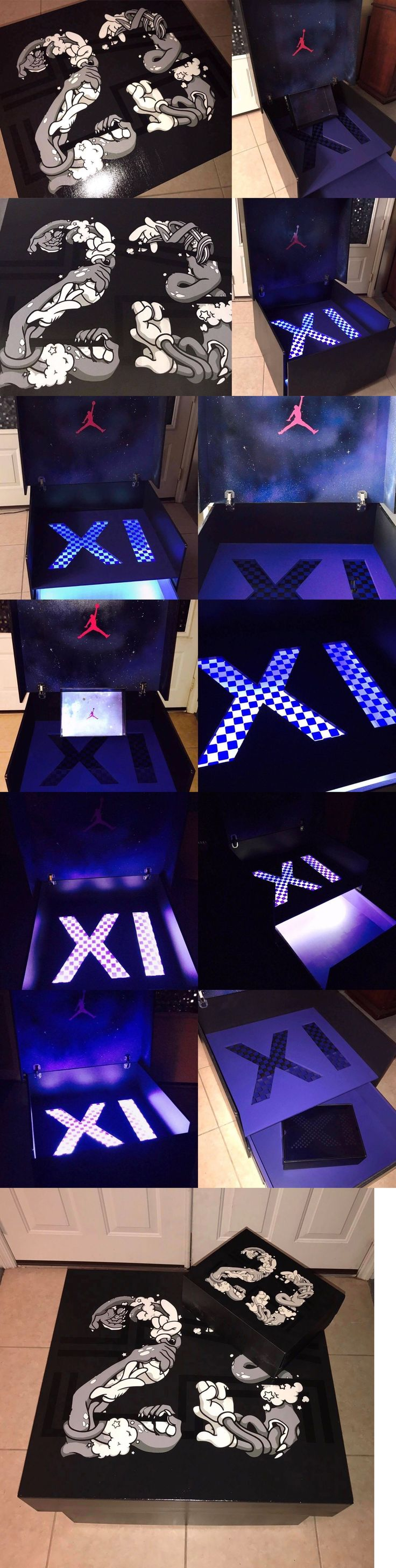 15 best Showcase Kicks giant shoe sneaker storage box images on