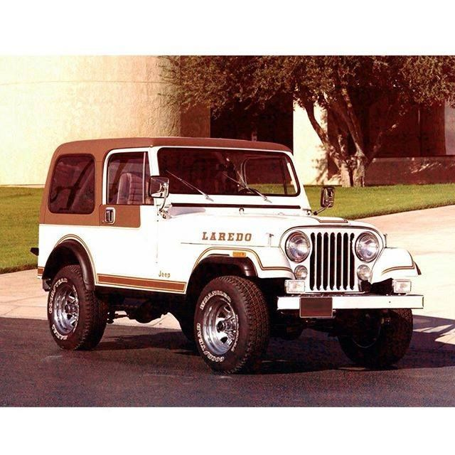 Who Has Driven This Classic 1982 Cj 7 Laredo Before Tbt Photo
