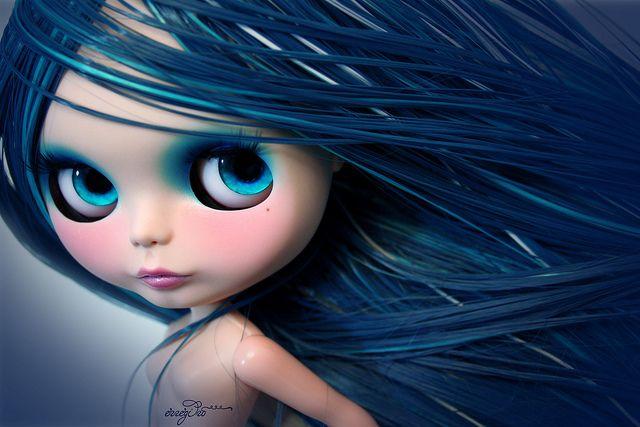 Laera ~ altered Blythe Doll by Rafael R. Girona