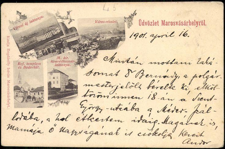 Marosvásárhely 1901...