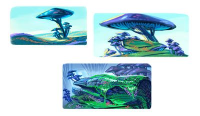Razmig Mavlian:   ONCE UPON A MONSTER Environment rough ideas for ...