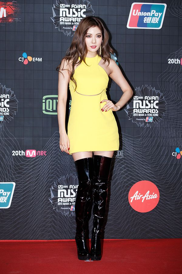 K-Pop Stars Shine at the 2015 MAMA Red Carpet