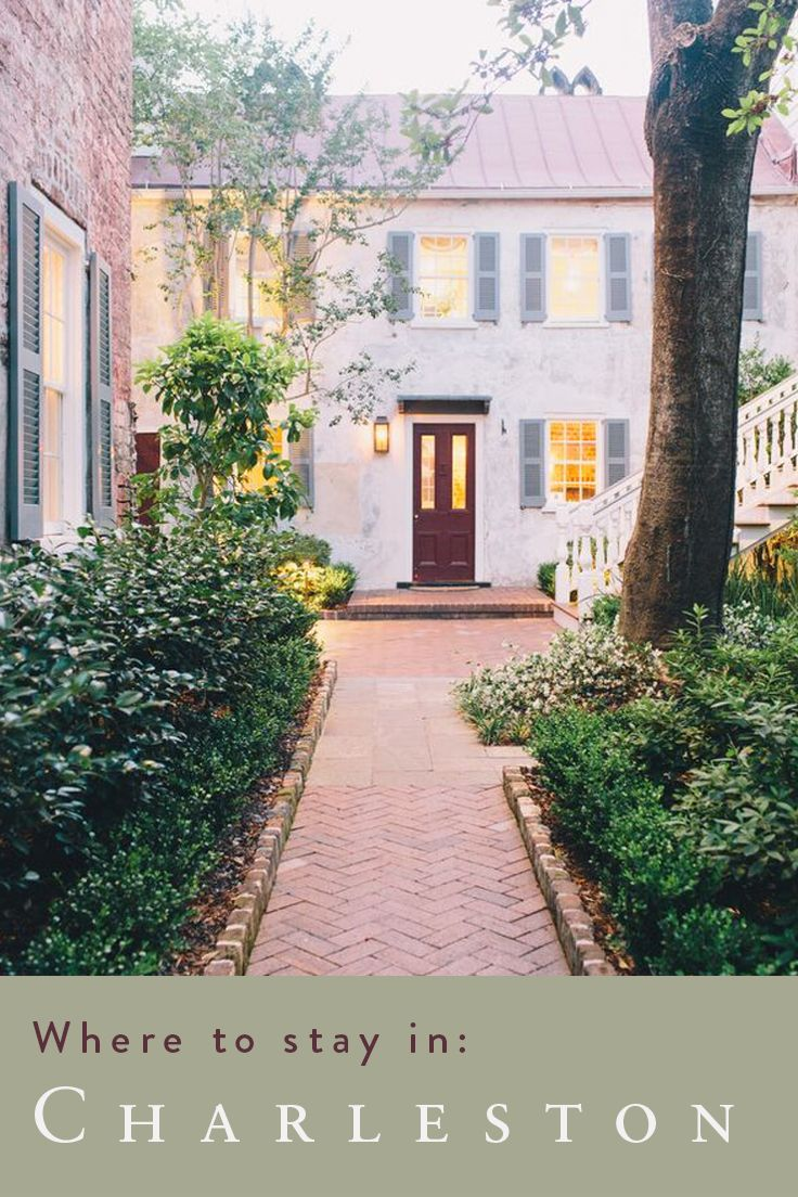 Charleston's penchant for Southern Hospitality and historically-inclined spaces is experienced fully in its inviting hotels!