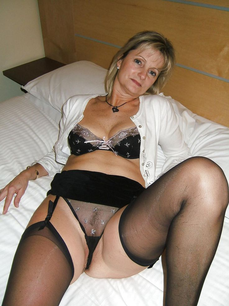My mom in sexy panties