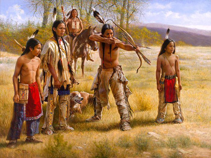 American Indian Artwork Paintings | Alfredo Rodriguez (AMERICAN INDIAN ART) (20)