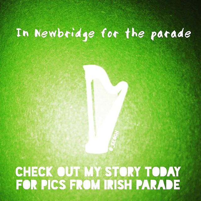 Gonna be in Newbridge for the parade! Check out my insta-story for some pics... 🇮🇪 #Ireland #stories #saintpatricksday #stpattysday  #stpatricksday #pattysday #paddysday #patricksday #insta #instagram #instagood #instacool #instadaily #followfriday #ff #parade #newbridge #kildare #beautiful #eire #green #🇮🇪 #shamrock 💚 #☘️ #🍀