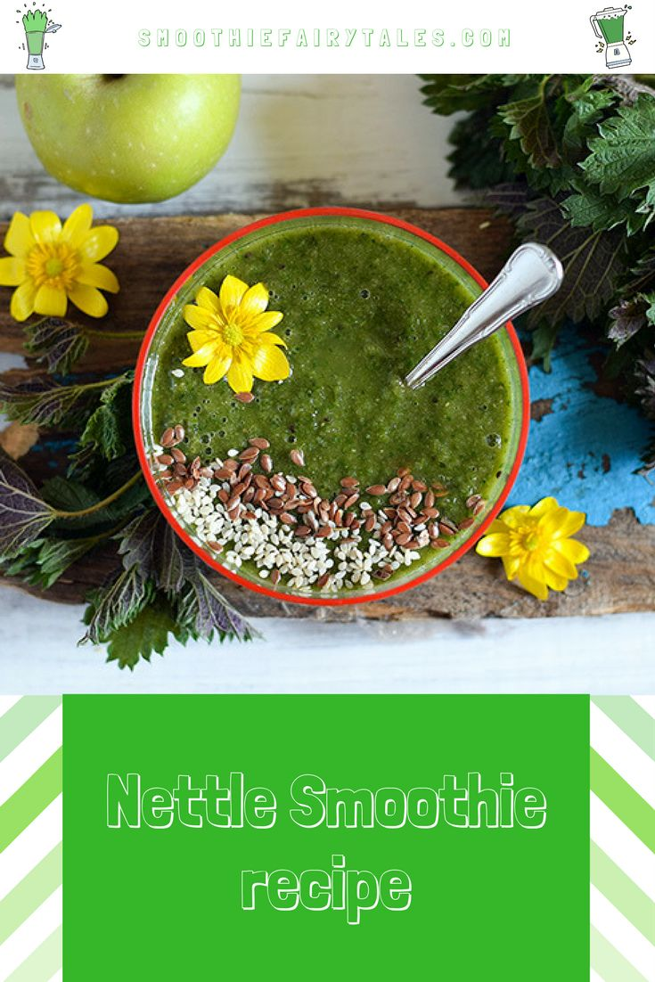 Healthy Nettle Smoothie