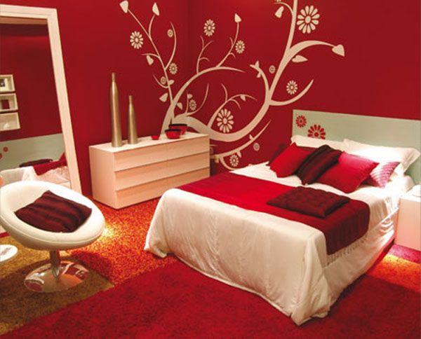 75 Klein Schlafzimmer Deko Rot Fur Jeden Stil Awesome Bedrooms