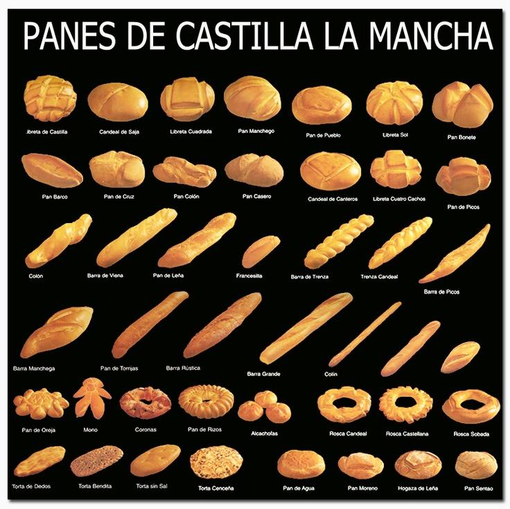 Panes de Castilla la Mancha