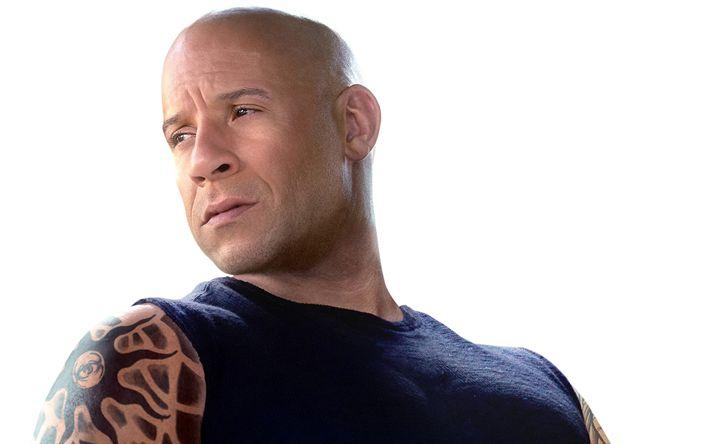 Hämta bilder Vin Diesel, Amerikansk skådespelare, porträtt, Snabb och Rasande 8, Amerikanska kändisar, Mark Sinclair