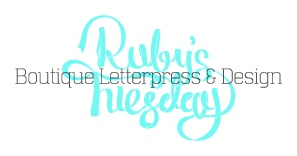 Rubys Tuesday Letterpress Studio » A letterpress and design studio located in Thirroul, NSW. » About Us