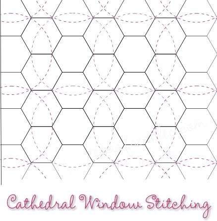 Best 25 hand quilting designs ideas on pinterest hand for Quilting hexagon templates free