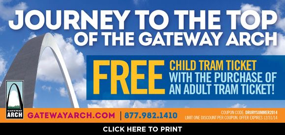 Gateway Arch Coupons, Offers, And Promos丨November Don't miss out on this opportunity to save big at Gateway Arch. Shop and save with this offer: Gateway Arch Coupons, Offers, and Promos丨May Be the first to know, first to shop, and first to save. % Success; share.