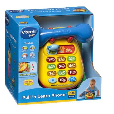 Vtech Pull And Learn Phone | Kmart $20