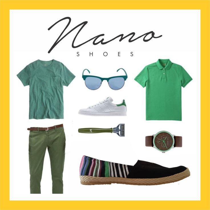 outfit nano shoes!
