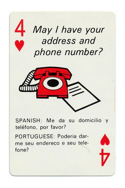 Braniff Airlines playing cards designed by Alexander Girard, 1968