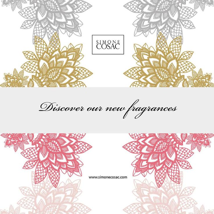 Discover our new fragrances www.simonecosac.com