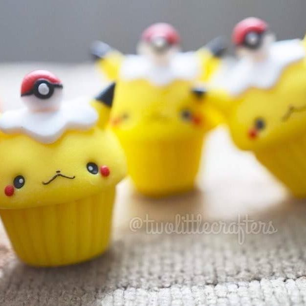@meowbuncharms Guys remember our Pikaball cupcakes?? Should we do a special Halloween edition of them?  If so, leave some suggestions on what we should incorporate! Shop has been updated with a few items already! .  .  .    #pokemon #handmade #pikachu #po