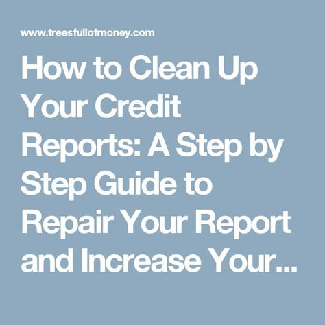 18 best CREdiT images on Pinterest Credit report, Personal - credit report template
