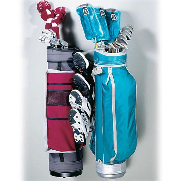 Racor Golf Bag / Golf Shoe Storage Rack   Sports   Wall Storage Hangers    Wall Storage Hangers   The Garage Store