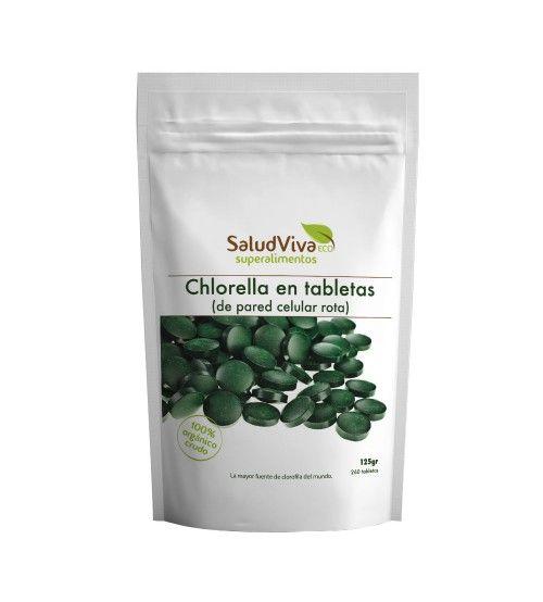 Alga Chlorella en Tabletas