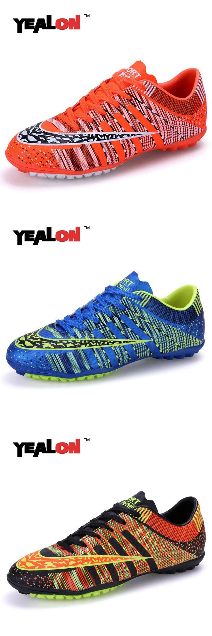 [Visit to Buy] YEALON Football Boots Soccer Shoes Men Superfly Cheap Football Shoes For Sale Kids Cleats Indoor Soccer Shoes Superfly Chuteira #Advertisement
