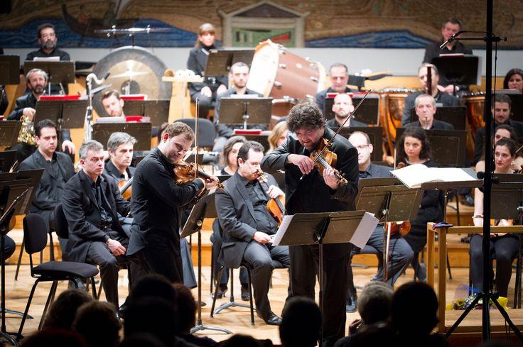 #Concert @mikulskidariusz with #Thessaloniki State #Orchestra #DariuszMikulski #Karakantas and #Papanas #Violin