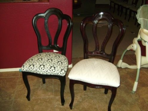 How To Reupholster A Dining Room Chair Seat And Back Fascinating 144 Best Planning Reupholstered Chairs Images On Pinterest Inspiration