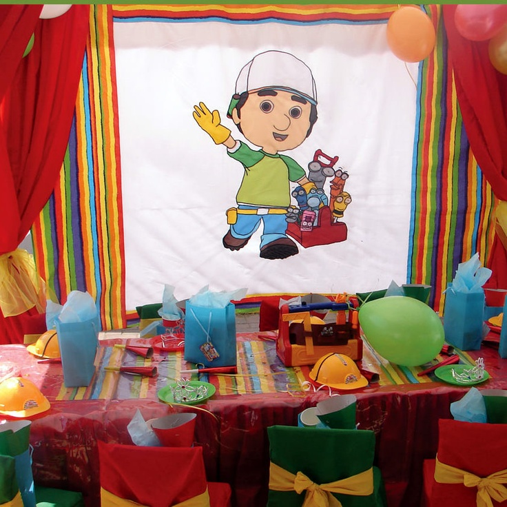 109 Best Handy Manny Party Images On Pinterest