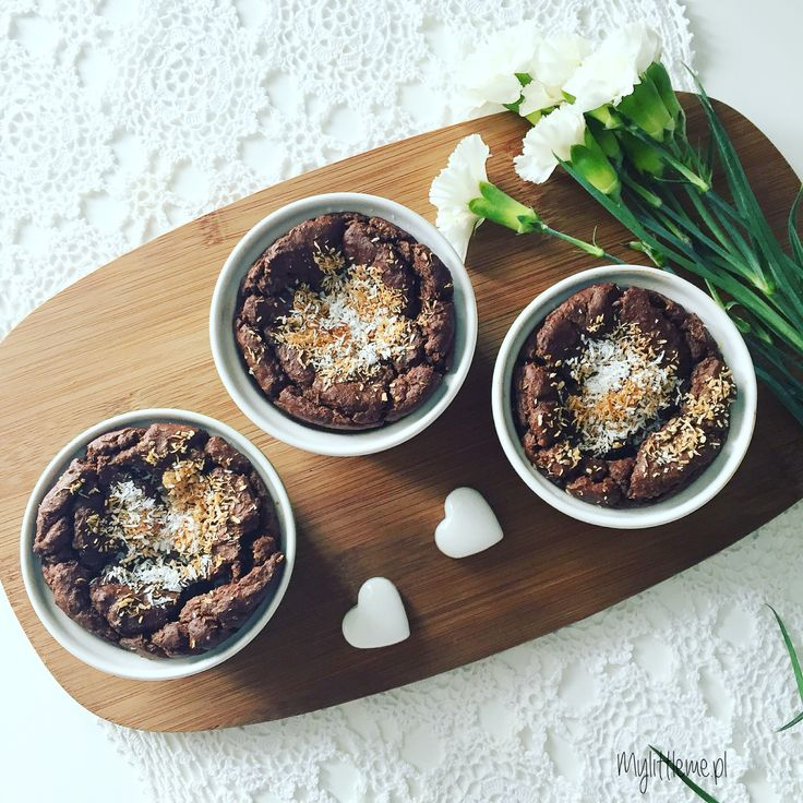 Kokosowe brownie z kaszy jaglanej