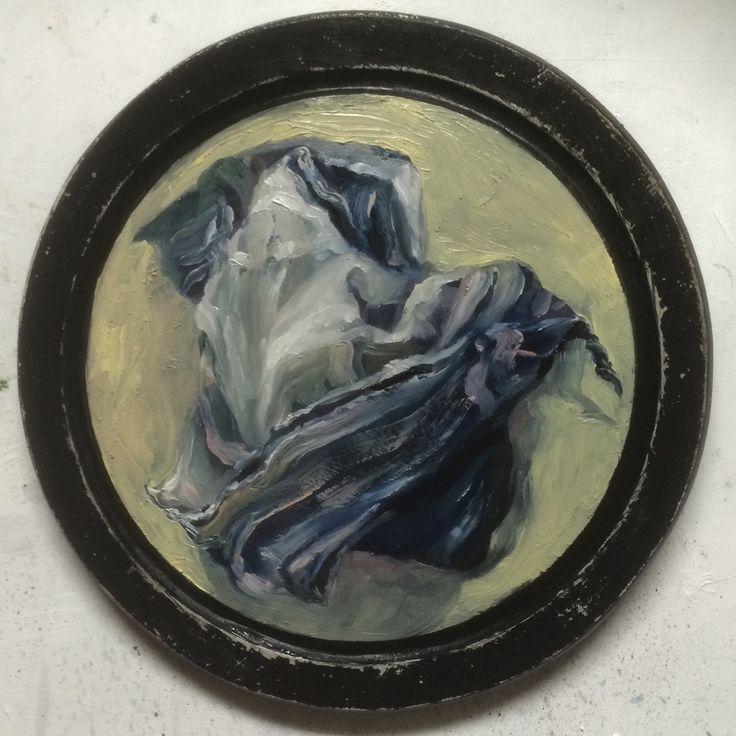 Oil on wood (plate), 25cm, P.Legeland