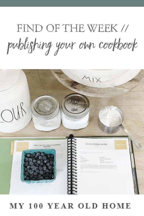 A few years ago I self-published my own cookbook. It's called Old, New, Borrowed and Bleu and features my favorite recip…