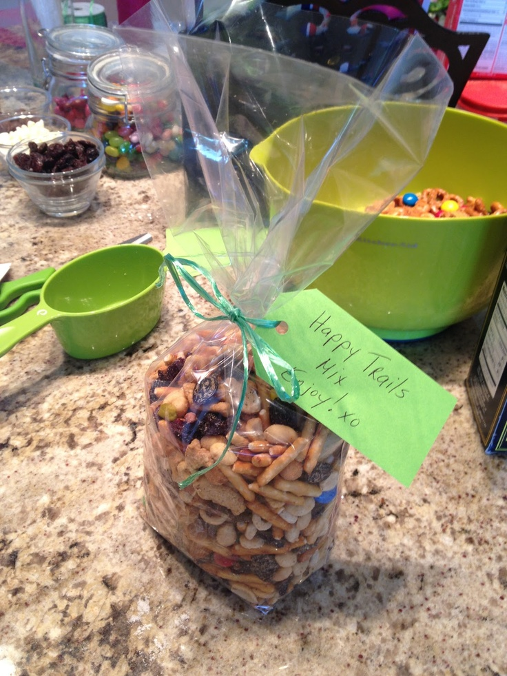Great gift: Happy Trails Mix!