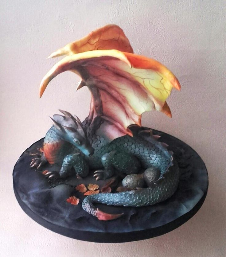 Dragon cake by Ania                                                                                                                                                                                 More