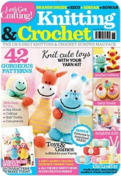 Let's Get Crafting Knit & Crochet #46 - my amigurumi patterns