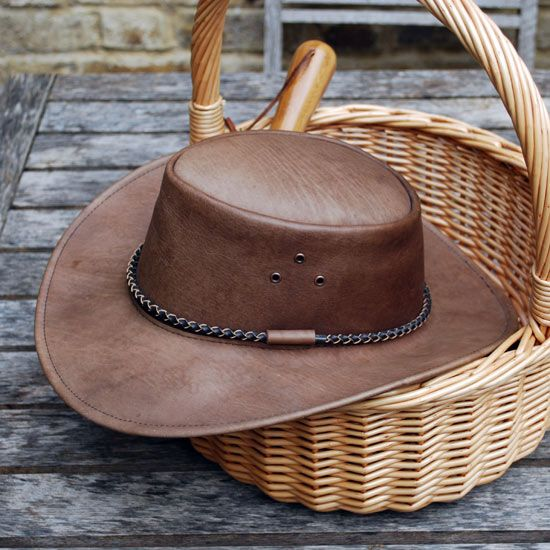 Leather Gardening Hat £34.99