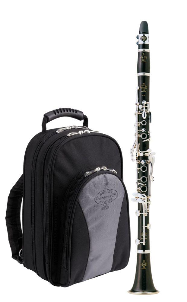 BUFFET CRAMPON E13 + etui sac a dos - Clarinettes d'étude - Clarinettes étude Sib | Woodbrass.com
